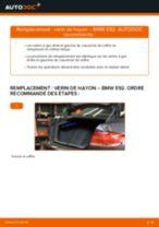 Comment changer : verin de hayon sur BMW E92 - Guide de remplacement