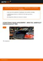 Udskift bagklapsdæmper - BMW E92 | Brugeranvisning