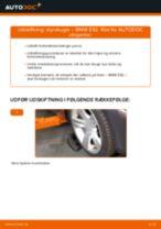 Udskift styrekugle - BMW E92   Brugeranvisning