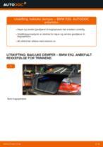 Trinn-for-trinn reperasjonshåndbøker BMW E90
