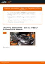 Slik bytter du bremseskiver fremme på en BMW E92 – veiledning