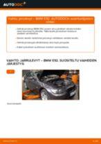 Kuinka vaihtaa jarrulevyt eteen BMW E92-autoon – vaihto-ohje