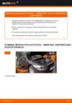 Ako vymeniť predné brzdové kotúče na BMW E92 – návod na výmenu