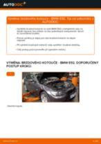 Jak vyměnit přední brzdové kotouče na BMW E92 – návod k výměně