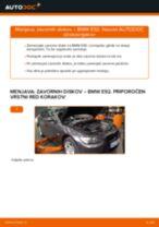 Kako zamenjati avtodel zavorni diski spredaj na avtu BMW E92 – vodnik menjave