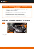 Kuidas vahetada BMW E92 taga-piduriketaste – õpetus