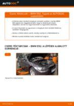 Hogyan cseréje és állítsuk be Féktárcsák BMW 3 SERIES: pdf útmutató