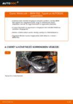 BMW 3 Coupe (E92) Féktárcsák beszerelése - lépésről-lépésre útmutató