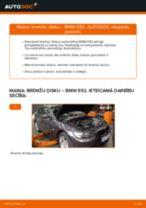 Kā nomainīt: priekšas bremžu diskus BMW E92 - nomaiņas ceļvedis