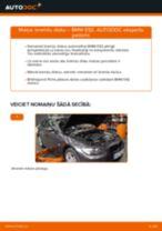 Kā nomainīt: aizmugures bremžu diskus BMW E92 - nomaiņas ceļvedis