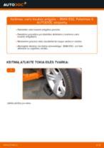Kaip pakeisti BMW E92 vairo traukės antgalio - keitimo instrukcija