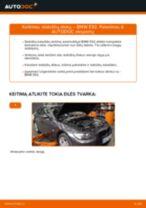 Kaip pakeisti BMW E92 stabdžių diskų: galas - keitimo instrukcija