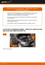BMW 3 Coupe (E92) Bremsscheiben: PDF-Anleitung zur Erneuerung