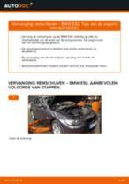 Hoe remschijven vooraan vervangen bij een BMW E92 – vervangingshandleiding