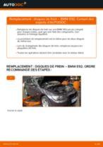 Comment changer : disques de frein avant sur BMW E92 - Guide de remplacement