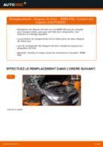 Comment changer : disques de frein arrière sur BMW E92 - Guide de remplacement