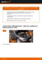 Udskift bremseskiver for - BMW E92   Brugeranvisning