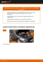 Udskift bremseskiver bag - BMW E92   Brugeranvisning