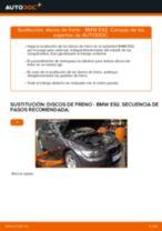 Cómo cambiar: discos de freno de la parte delantera - BMW E92 | Guía de sustitución