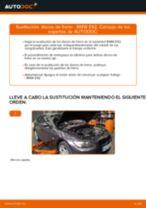 Cambio Pastillas De Freno traseras y delanteras BMW 3 Coupe (E92): guía pdf