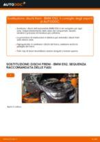 Come cambiare dischi freno della parte anteriore su BMW E92 - Guida alla sostituzione