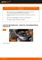 Byta bromsskivor fram på BMW E92 – utbytesguide