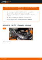 Byta bromsskivor bak på BMW E92 – utbytesguide