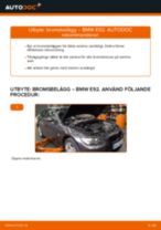 Byta bromsbelägg bak på BMW E92 – utbytesguide