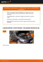 Slik bytter du bremseskiver bak på en BMW E92 – veiledning