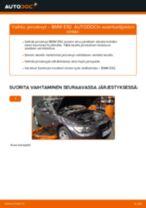 Kuinka vaihtaa jarrulevyt taakse BMW E92-autoon – vaihto-ohje