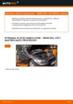 Jak wymienić i wyregulować Komplet klocków hamulcowych BMW 3 SERIES: poradnik pdf