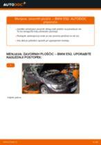 Zamenjavo Zavorne Ploščice BMW 3 SERIES: navodila za uporabo