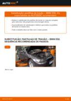 Mudar Pastilhas De Travão BMW 3 SERIES: manual técnico