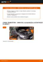 Hátsó fékbetétek-csere BMW E92 gépkocsin – Útmutató