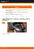 Elülső fékbetétek-csere BMW E92 gépkocsin – Útmutató