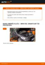 Soli-pa-solim PDF apmācība kā nomaināms BMW 3 Coupe (E92) Bremžu Kluči