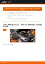DIY rokasgrāmata par Bremžu uzlikas nomaiņu BMW 3 Coupe (E92)