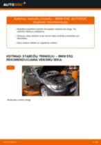 Kaip pakeisti gale ir priekyje Stabdžių Kaladėlės BMW 3 Coupe (E92) - instrukcijos internetinės