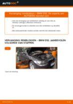 Hoe remblokken vooraan vervangen bij een BMW E92 – vervangingshandleiding