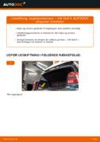 Udskift bagklapsdæmper - VW Golf 4 | Brugeranvisning