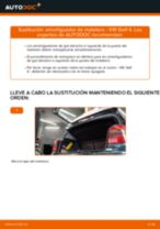 Cambio Pastillas De Freno traseras y delanteras VW GOLF IV (1J1): guía pdf