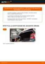Come cambiare pistoni portellone su VW Golf 4 - Guida alla sostituzione