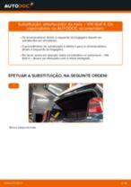 Como substituir Discos de travagem Discos de freio TOYOTA COROLLA (_E10_) - manual online