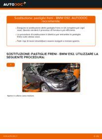 Come effettuare una sostituzione di Pastiglie Freno su BMW ? Dai un'occhiata alla nostra guida dettagliata e scopri come farlo