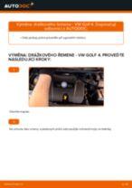 Doporučení od automechaniků k výměně VW Golf 3 2.0 Klinovy zebrovany remen