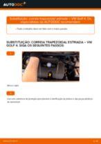 Substituir Correia de ventoinha VW GOLF: tutorial online
