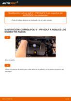 Cómo cambiar: correa poli V - VW Golf 4 | Guía de sustitución