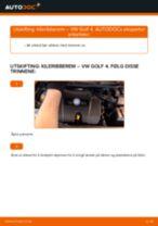 Bytte Multireim VW GOLF: guide på nett