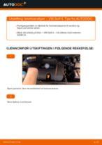 Hvordan bytte og justere Glødelampe Nummerskiltlys VW GOLF: pdf håndbøker