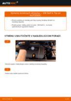 Ako vymeniť predné brzdový strmeň na VW Golf 4 – návod na výmenu